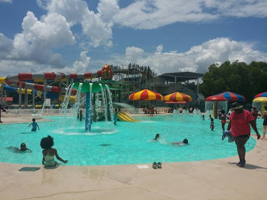 The BEACH at Clayton County International Park: Kid pool