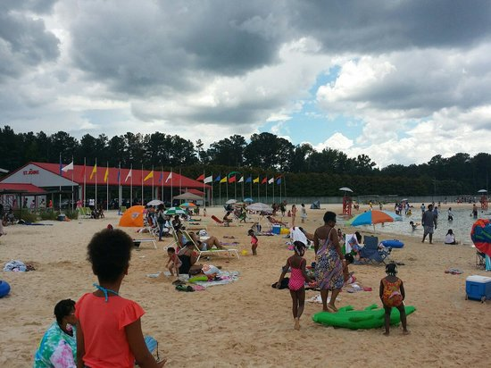 The Beach At Clayton County International Park Area
