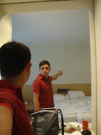 Ibiza Copacabana Hotel: quarto