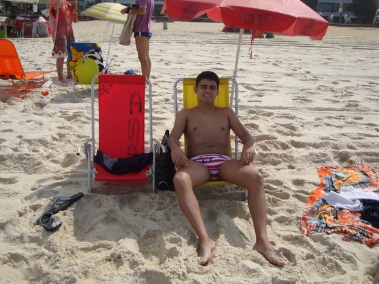 Ibiza Copacabana Hotel: praia