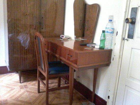 Paulista Pensao Residencial: mobilier, état des boiseries