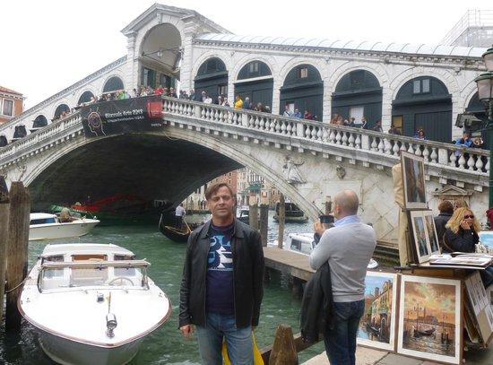 Aurora Hotel: Венеция. У Риальто