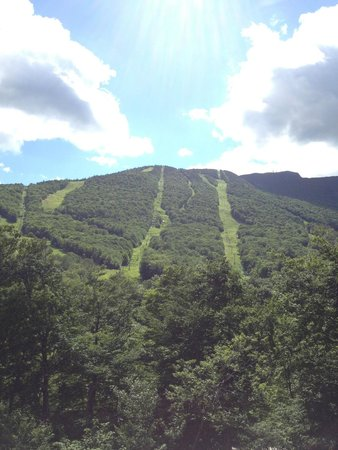 Stowe Mountain Lodge : Mt. Mansfield slopes...
