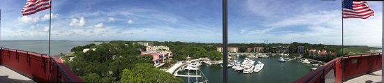 Harbour Town Lighthouse: View from the top of the lighthouse