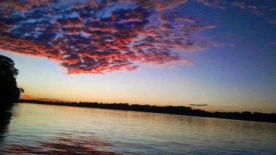 Amazon Planet: sunset