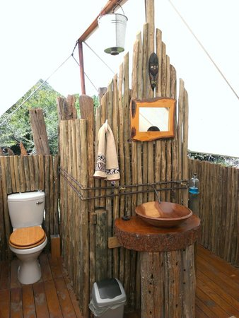 Quatermains 1920s Safari Camp : bagno