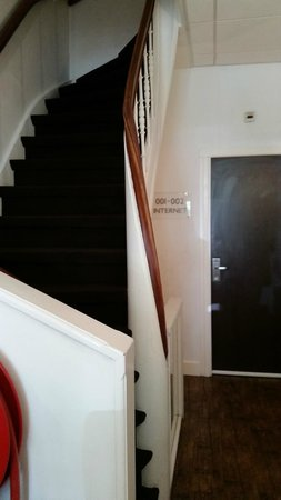 Boutique Hotel View : Typical narrow, steep stairs