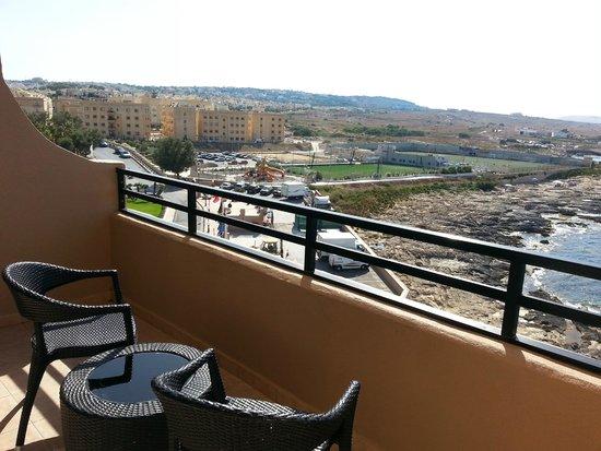 Radisson Blu Resort, Malta St Julian's: Balcony