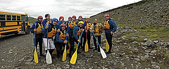 Arctic Adventures: Getting ready to hit the river