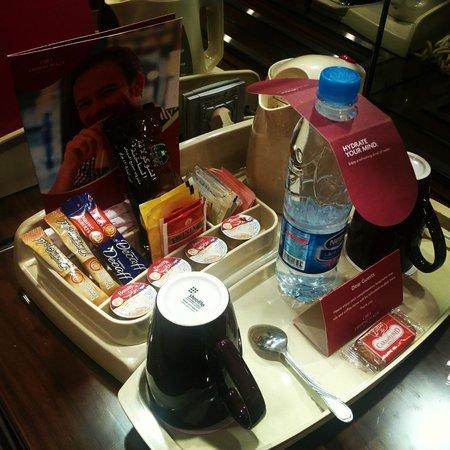Crowne Plaza Riyadh Minhal : Complimentary Hot Drinks