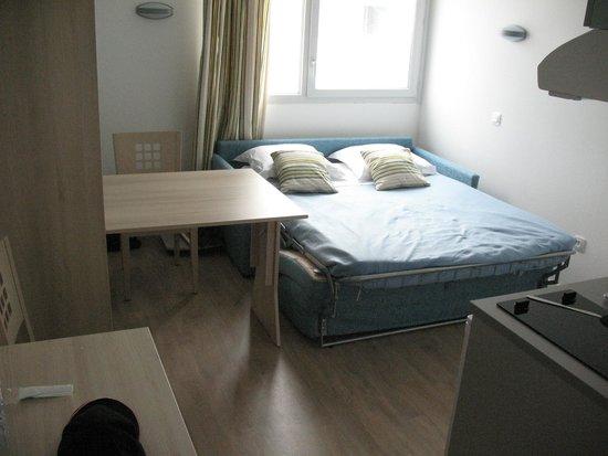 Apart'Hotel L'Escale Marine : chambre type