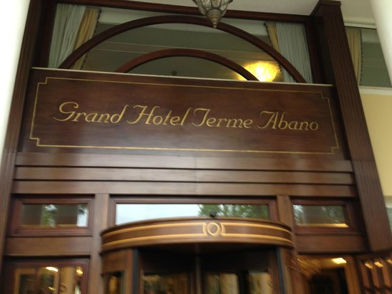 Abano Grand Hotel : Front