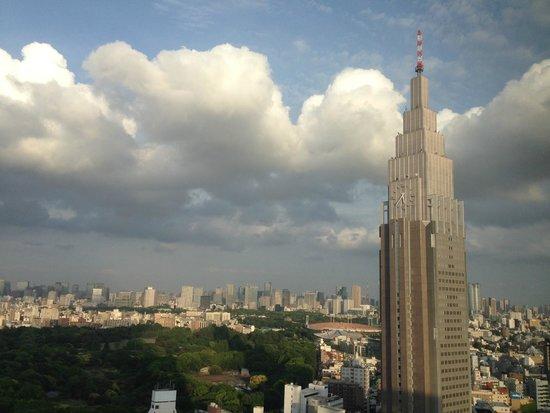 Hotel Century Southern Tower: vista do apartamento na direção do Parque Shinjuku