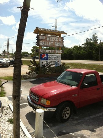 S.S. Wreck & Galley Grill: Outside The Wreck & Galley Grill