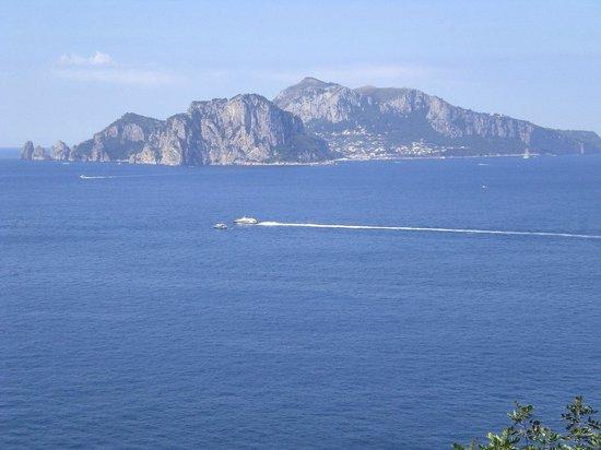 Villa Angelina: Capri vista dalla Viila Angelina