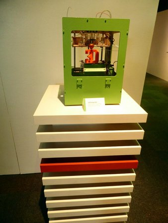 Museum of Science and Industry: 3D Printing Machine