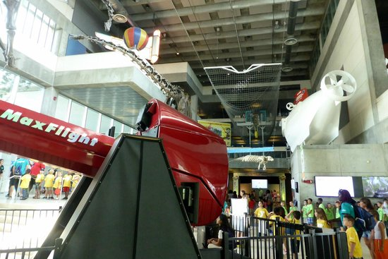 Museum of Science and Industry: FS 2000 Roller Coaster Simulator  -  Motion Machine