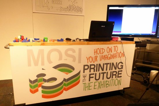 Museum of Science and Industry: 3D Printing Exhibition