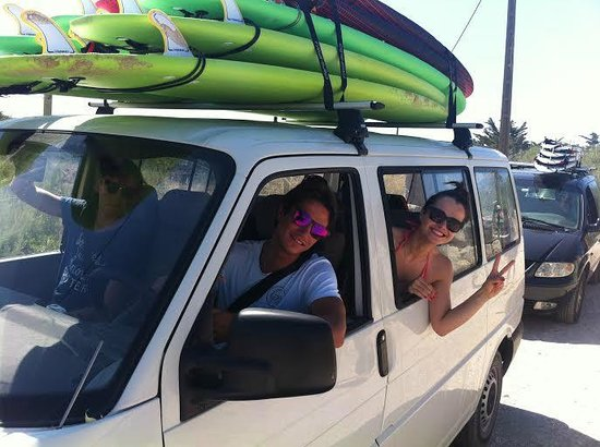 Cascais Surf School & Surf Camp: ready to surf with David and his team!!
