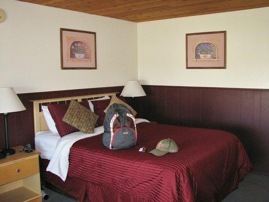 Yosemite Gateway Motel : one very comfortable queen