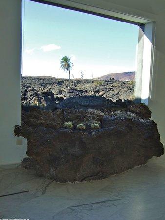 Fundación Cesar Manrique: Lava window 2