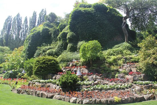 Butchart Gardens: In the Sunken Garden