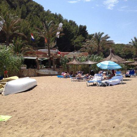 Grupotel Cala San Vicente: Chiringuito sulla spiaggia dell'hotel