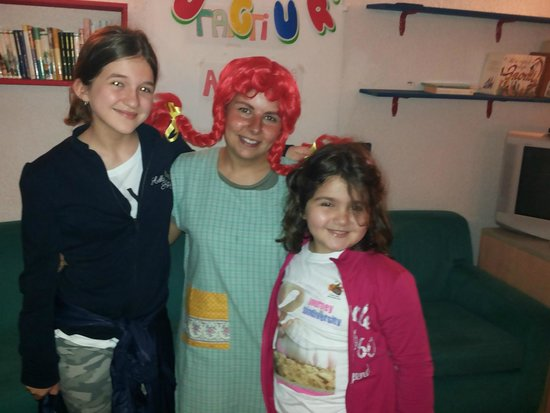 Family Hotel Primavera: Insieme a Pippi Calzelunghe.