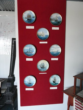 Skenesborough Museum: Plates showing various ships of the US Navy.