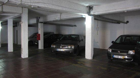 Montemar: подземный паркинг
