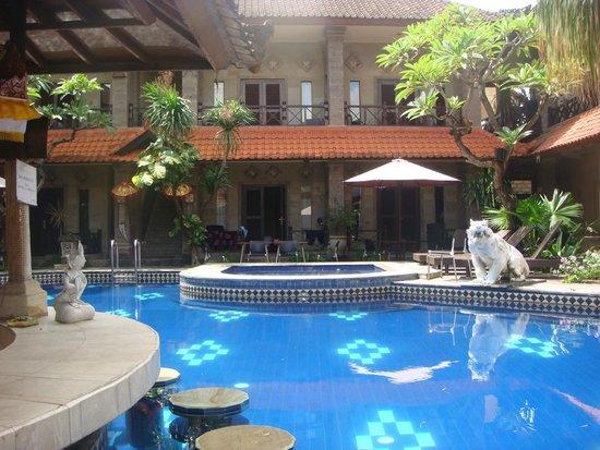 Ari Putri Hotel: Pool and rooms