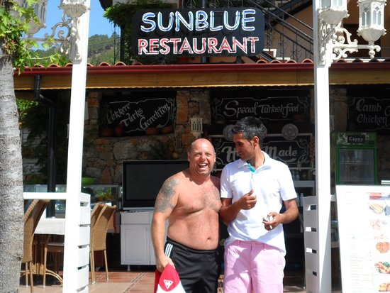 Sun Blue Apart Hotel: me and russell great guy