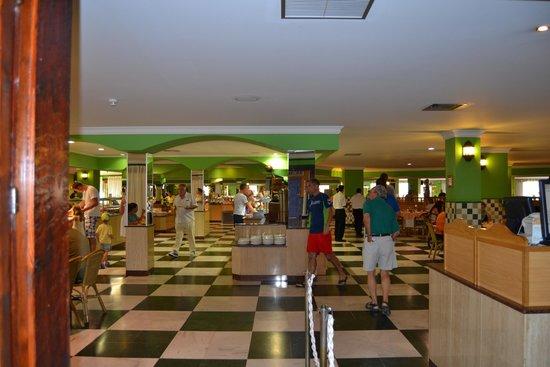 Playaluna Hotel : restaurante buffet