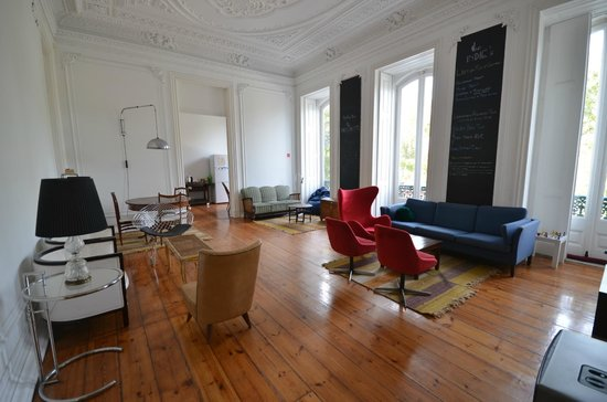 The Independente Hostel & Suites: Common room