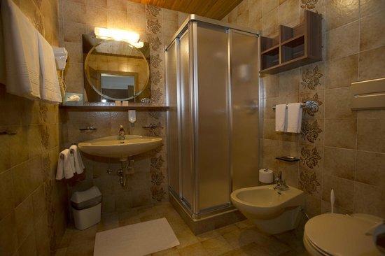 Hotel Mondschein: Badezimmer