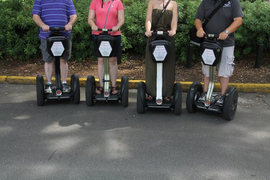 Segway of Savannah: Segways in Motion (by Lawrence)