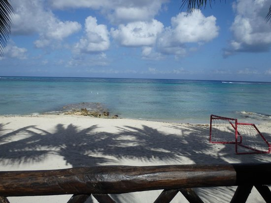 Secrets Aura Cozumel: From the Market Place patio at breakfast
