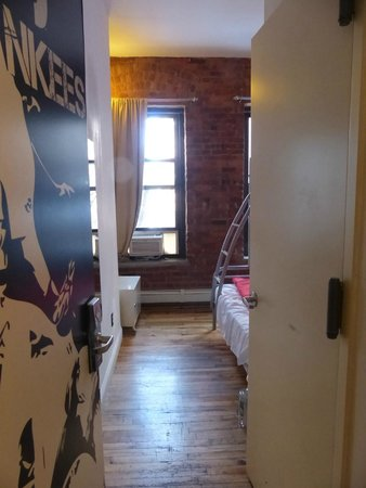 "The New York Loft Hostel: ""Twin private ensuite"""