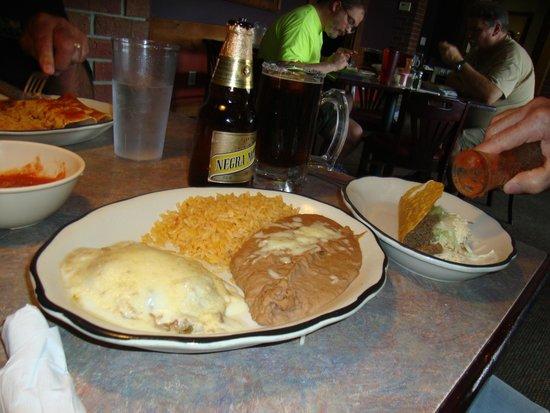 La Cabana Restaurant : my plates