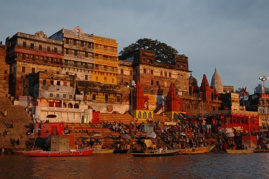 Ganges River: the view from the boat