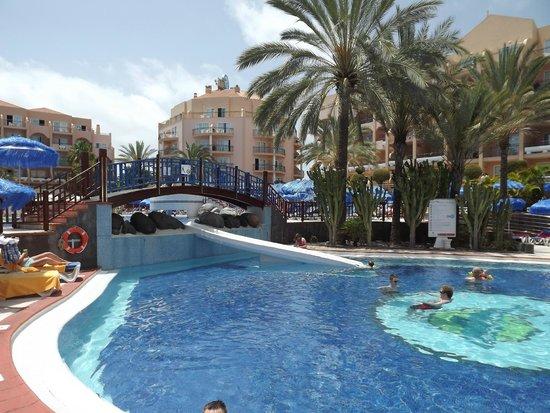 Dunas Mirador Maspalomas: Zwembad over dag