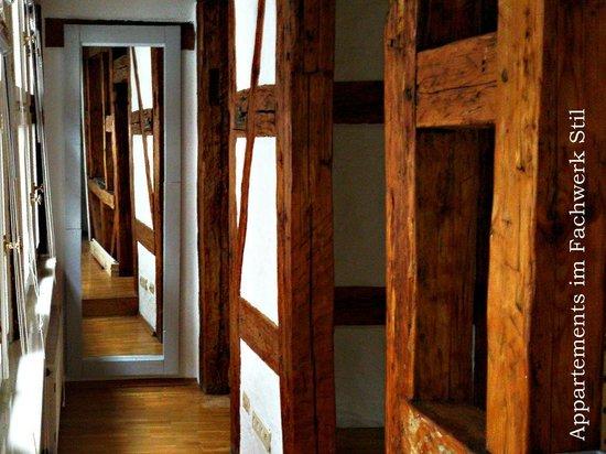Ventura's Hotel und Gastehaus: mittelalterlisches Fachwerk Apartement