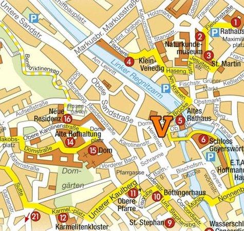 Ventura's Hotel und Gastehaus: Ihr Hotel im Herzen von Bamberg