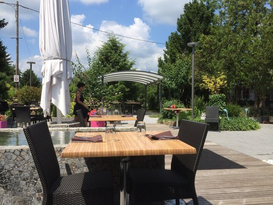 terrasse picture of le bellevue soultz tripadvisor. Black Bedroom Furniture Sets. Home Design Ideas