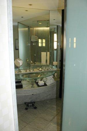 Park Hyatt Mendoza : Banheiro, enorme, do quarto.