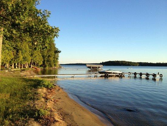 Long Lake: North end of lake looking South