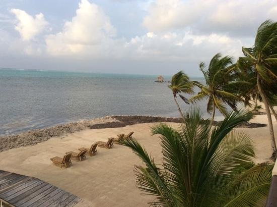 La Beliza Resort: view from our balcony