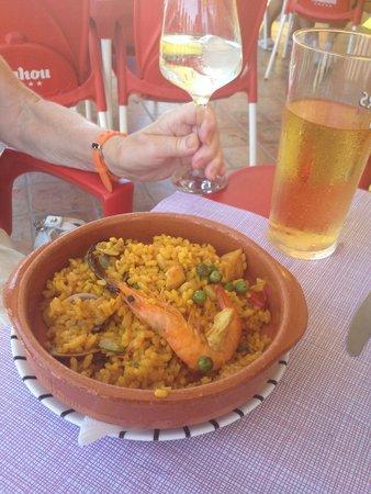 La Figuera II: More seafood paella