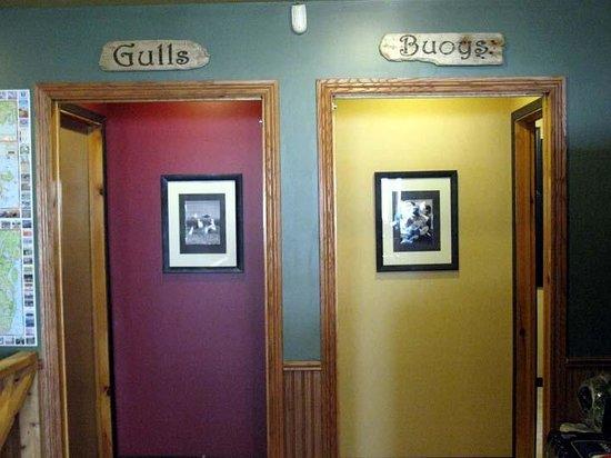 Gallaways Family Restaurant: Gallaways Restaurant - Which is the Men's Room?