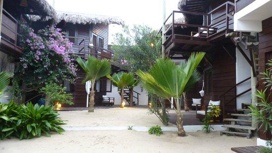 La Villa Jericoacoara: vue du rdc